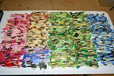 Lot Of 689 Total 569 DMC 25 & 120 JP Coats Embroidery Floss France Cotton  New