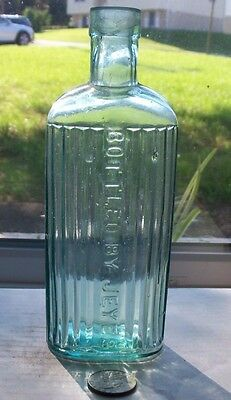 Very Nice Name Ridge Poison Embossed,bottle By Jeyes