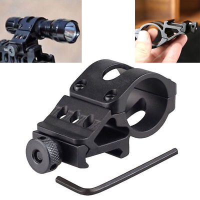 New Offset Rifle Scope Flashlight Torch Laser Weaver For Picatinny Rail Mount
