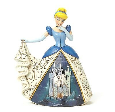 Disney Traditions Midnight At The Ball Cinderella Ornament Resin Figurine Gift