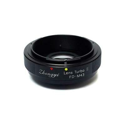 Mitakon Zhongyi Canon FD Mount Lens to Micro 4/3 Camera Turbo Mark II Adapter
