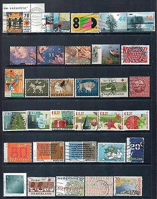 NETHERLANDS - Mixed lot of 32 Stamps, most Good - Fine Used, LH