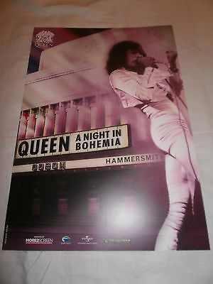 Queen - A Night in Bohemia - Promo Poster Art print (Limited Edition 2016)