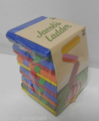 Jacobs Ladder Wooden Colourful Traditional Toy NEW