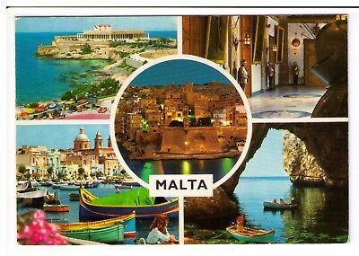 Postcard: Multiview - Malta