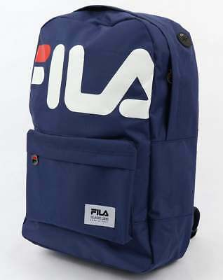 Fila Black Line Veneti Backpack in Navy Blue - sports bag, gym bag, school SALE