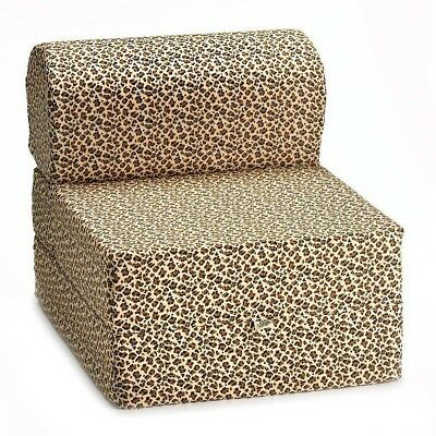 Comfy Kids Flip Chair - Cheetah