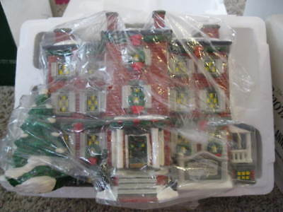 Dept 56 CIC CHRISTMAS IN THE CITY*OLD CHELSEA MANSION* HOME OF CLEMENT C. MOORE