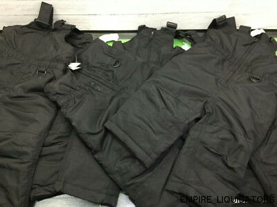8 Pairs of Infant Unisex 12M & 18M Wonder kid's Black Snowpants w/ Tags Attached