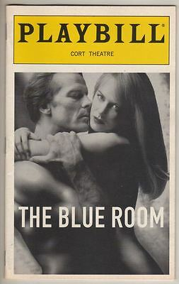 "Nicole Kidman   Playbill   ""The Blue Room""   Iain Glen   1999   Broadway"