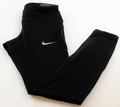 Nike Power Womens Dri Fit Running Tights 831647-010 Size XL Retail $85