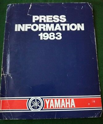 Press Pack For A Yamaha Salient Scooter 1983.