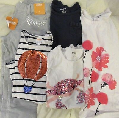 New & Used LOT of 5 Pieces Gymboree Girls Size 7