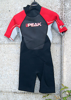Combinaison surf junior PEAK 2/2 mm 12 ans (152cm) Energy néoprène shorty Neuf