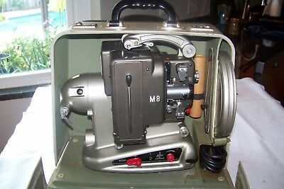 Vintage Bolex Paillard Film Cine Movie Projector M8