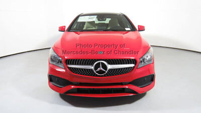 2018 Mercedes-Benz CLA-Class CLA 250 Coupe CLA 250 Coupe New 4 dr Sedan Automatic Gasoline 2.0L 4 Cyl Jupiter Red