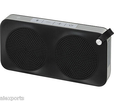 JVC SP-AD90-B Portable Wireless Speaker with NFC & Bluetooth  -  Black