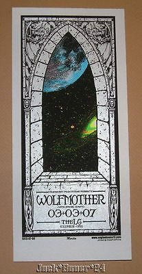 Wolfmother Columbus March Mike Martin Poster Handbill Print 2007