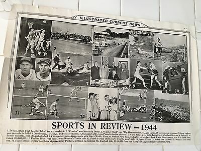 Illustrated Current News 4887 Sports in Review 1944