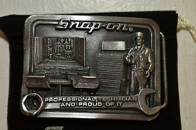 Snap-on Tools Professional Technician Belt Buckle Limited Edition Collectable