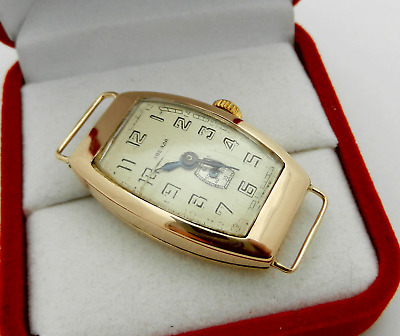 Rose Gold Vintage Soviet Russian Watch Zvezda (Star) Звезда Fully Functional