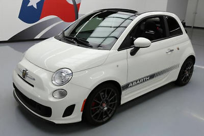 2015 Fiat 500 Abarth Convertible 2-Door 2015 FIAT 500 ABARTH CONVERTIBLE AUTO HTD SEATS 13K MI #560657 Texas Direct Auto