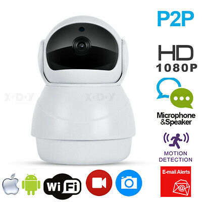 WiFi Mini fisheye 1080P HD IP Camera night vision Home security 360 cameras