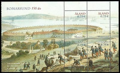 ALAND ISLANDS 225 - Destruction of Bomarsund Fortress Anniversary (pa90101)