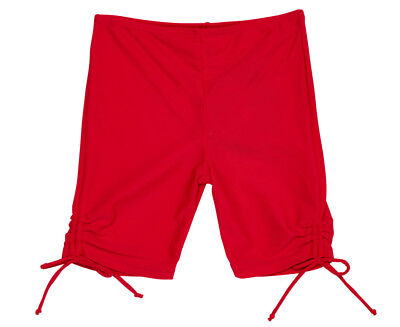 Cupid Girl Baby/Toddler 3/4 Ruched Tights - Red