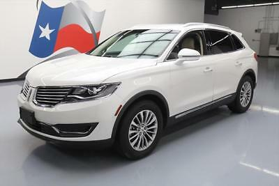 2016 Lincoln MKX Select Sport Utility 4-Door 2016 LINCOLN MKX SELECT LEATHER BLUETOOTH REAR CAM 28K #L28053 Texas Direct Auto