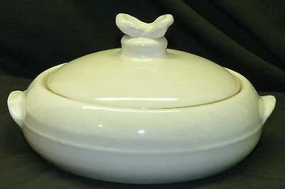 Vintage M A Hadley Art Pottery Covered Casserole Vegetable Serving Dish w/ Lid