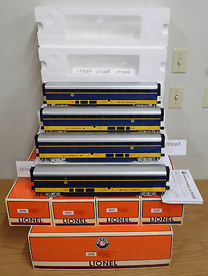 Lionel #15395 Alaska Superliner Bi-Level 18'' Aluminum Passenger 4 Car Train Set