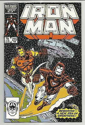 Iron Man #215 (1987) - The Shattered Sky