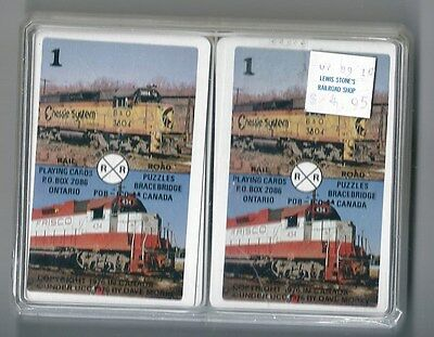 Playing Cards Transportation Trains Mainliner ©1976 In Canada Beautiful