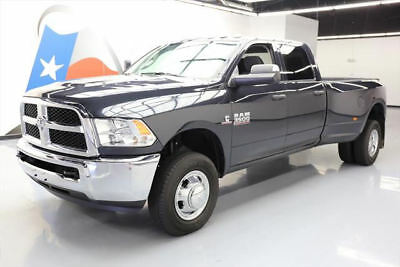 2017 Dodge Ram 3500  2017 DODGE RAM 3500 CREW 4X4 DIESEL DUALLY LONGBED 5K #701730 Texas Direct Auto