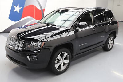 2016 Jeep Compass Latitude Sport Utility 4-Door 2016 JEEP COMPASS HIGH ALTITUDE SUNROOF HTD LEATHER 14K #792673 Texas Direct