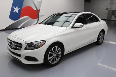 2016 Mercedes-Benz C-Class Base Sedan 4-Door 2016 MERCEDES-BENZ C300 SPORT SEDAN PANO ROOF NAV 15K #106388 Texas Direct Auto