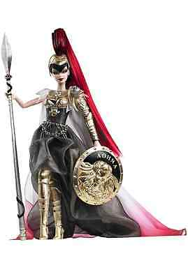 Barbie as Athena Gold Label 2010 Doll NIB