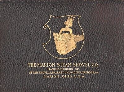 rare book MARION STEAM SHOVEL CATALOG #22 On3 Sn3 HOn3 On30 HO O