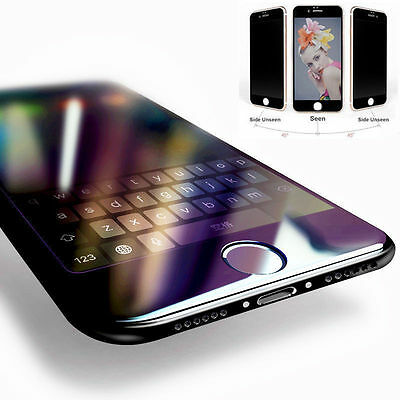 Black 3D Edge Full Curved Cover Tempered Glass Protector Film For iPhone 6s Plus