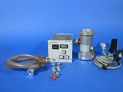 Pfeiffer / Balzers TPH-050 Turbo Pump + Controller Tested Working + Cables
