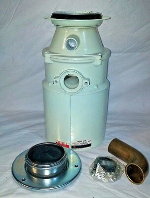 Bus Boy 1/3 hp Garbage Disposal Disposer New! BB30 5.4 amps 115 volt 60 cycle