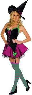 Sparkle Witch Wicked Cute Playboy Fancy Dress Up Halloween Sexy Adult Costume