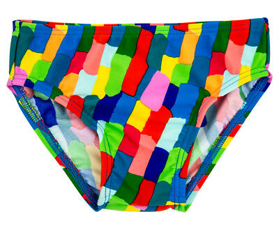 WaveRat Baby/Toddler Block City Print Brief - Multi
