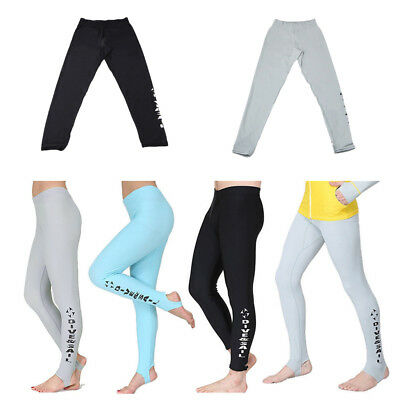 Women's Wetsuit Scuba Diving Tight Trousers Surfing Swimming Yoga Long Pants