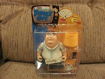 ©2004 Mezco Family Guy Peter Griffin Action Figure - Sealed