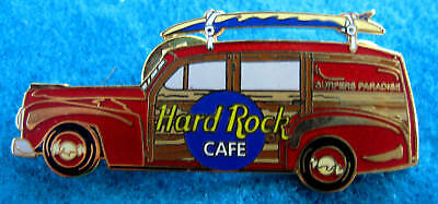 SURFERS PARADISE RED PROTOTYPE HOLDEN WAGON CAR SURFBOARD Hard Rock Cafe PIN