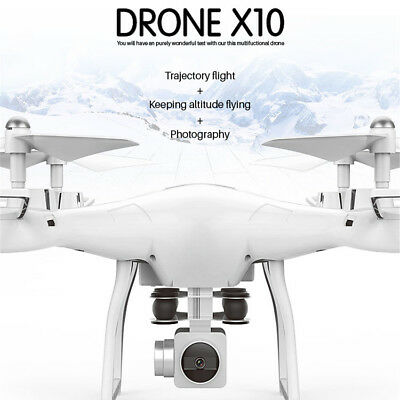X10 2.4Ghz Quadcopter 720P Camera WIFI FPV Headless Mode Altitude Hold RC Drone