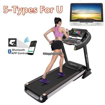 Bluetooth Folding APP Electric Motorized Treadmill Running Gym Fitness Machine