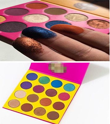 16 Colors Masquerade Eye shadow Palette Shimmery Pearl Textured Colors Eyeshadow